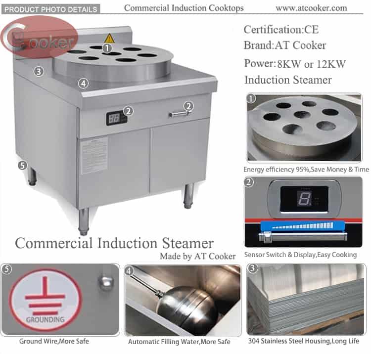 bun steamer commercial dim sum steamer commercial