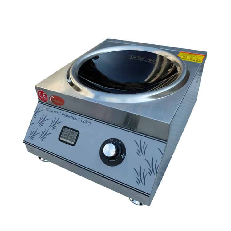 induction wok cooker commercial wok burner manufacturers