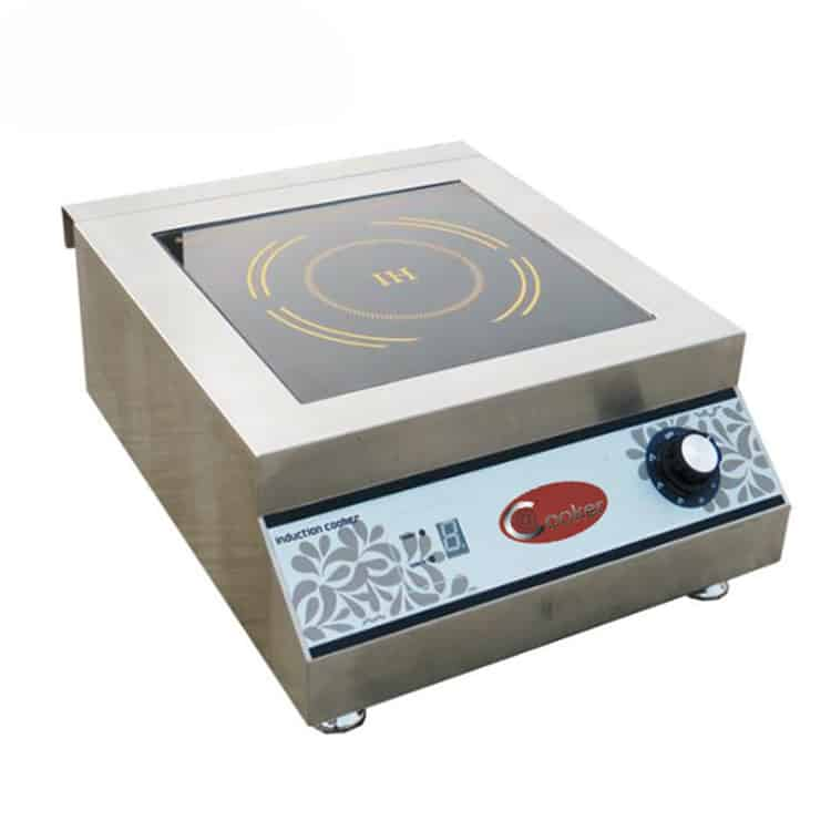 commercial countertop induction cooktop