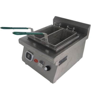 double basket deep fryer 2 basket deep fryer