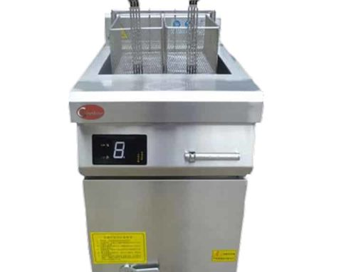 ZLT-AS8 commercial use single deep fryer