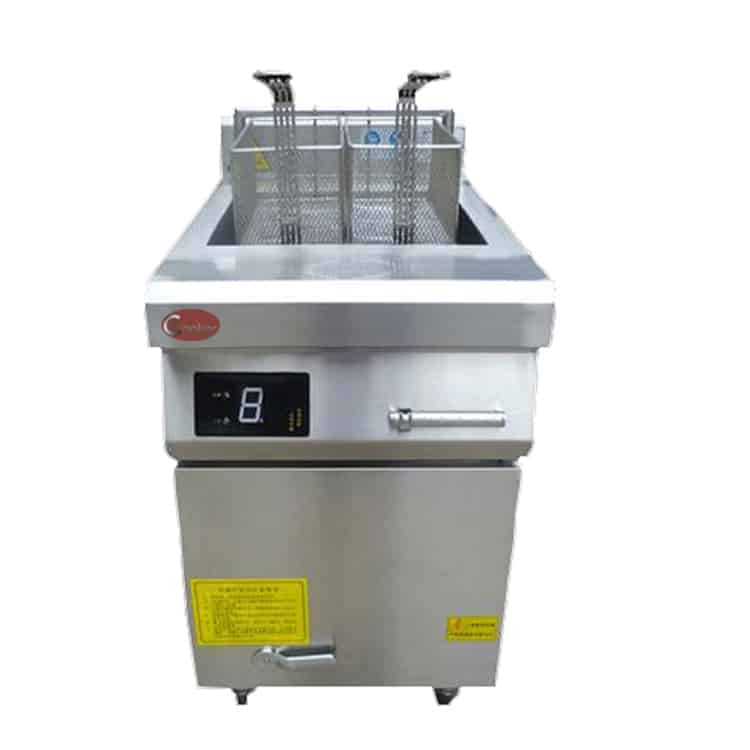 23L restaurant deep fryer induction