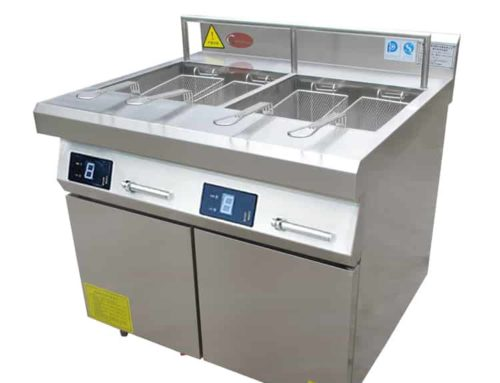 ZLT-A2S15 commercial double deep fryer
