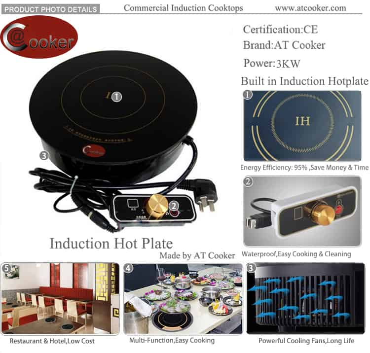 induction hot plate commercial hot plate catering hot plate restaurant hot plate