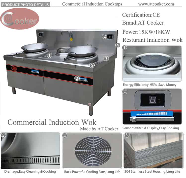 double wok burner commercial kitchen wok burner