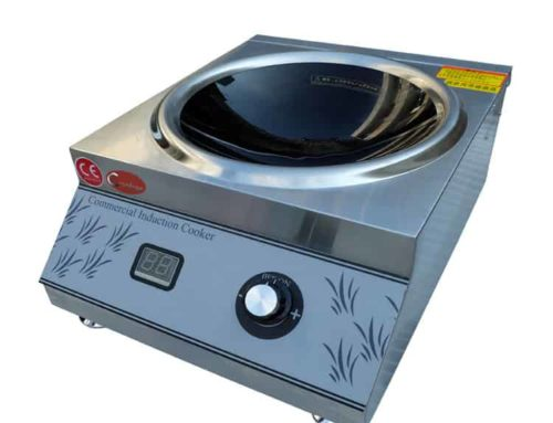 SHCT-AC35 induction wok commercial