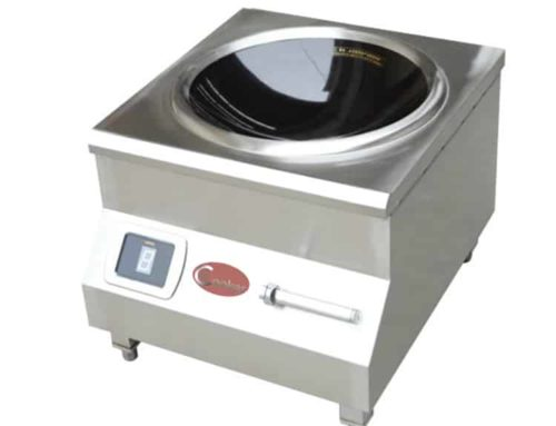 SHCT-AC8 induction wok commercial