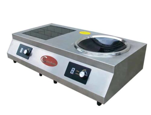 SHPT-AFWC5 induction hob with wok