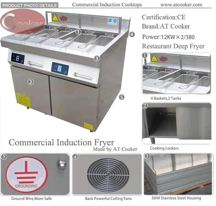 buy commercial deep fryer