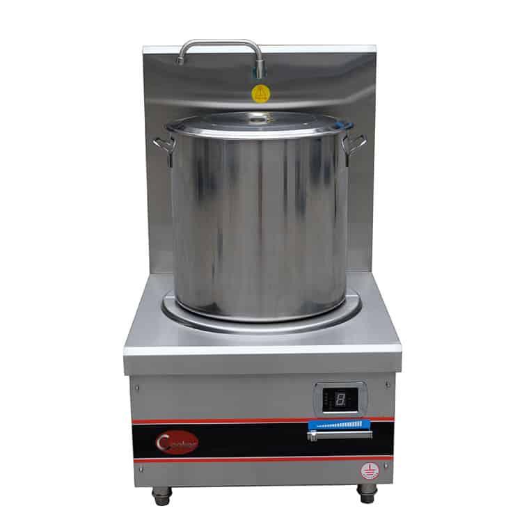 commercial induction soup boiler