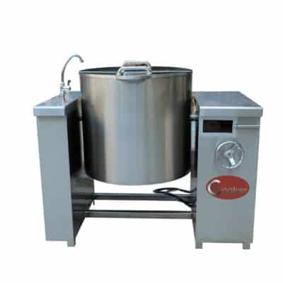 automatic tilting boiling pan commercial boiling pan