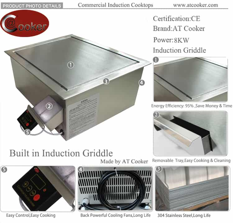 commercial flat top griddle commercial griddle plate