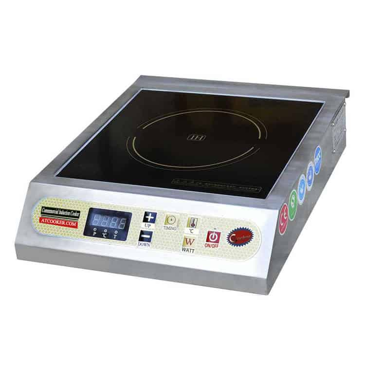 commercial portable induction cooktop