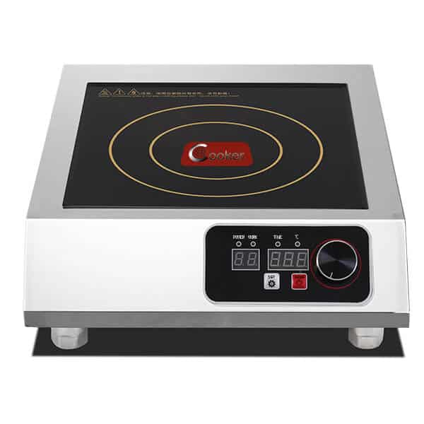 single commercial induction cooktop 3500W AT Cooker