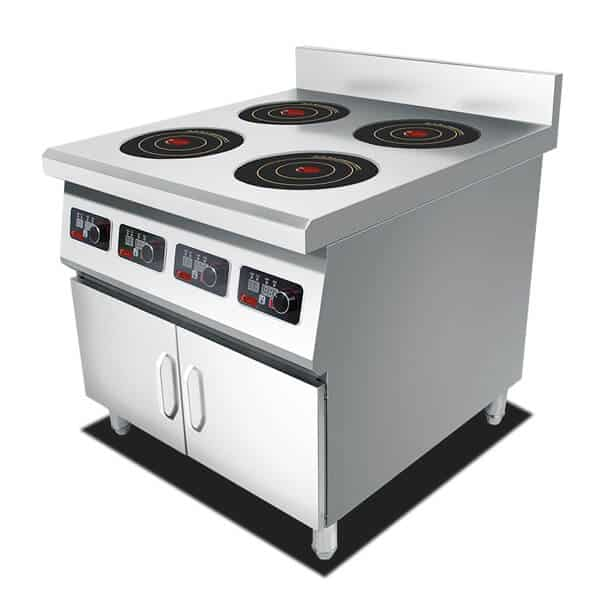 freestanding induction stove for restaurant use