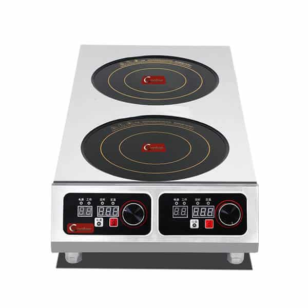 induction cooktop commercial 2 hobs SHPTA 2C online