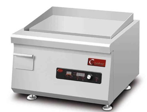 QRPLT-A5C35 induction commercial griddle countertop